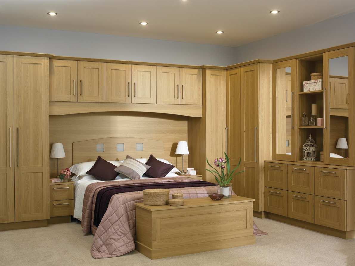 Guide to bespoke fitted bedroom furniture service in london Bedroom with kitchen design