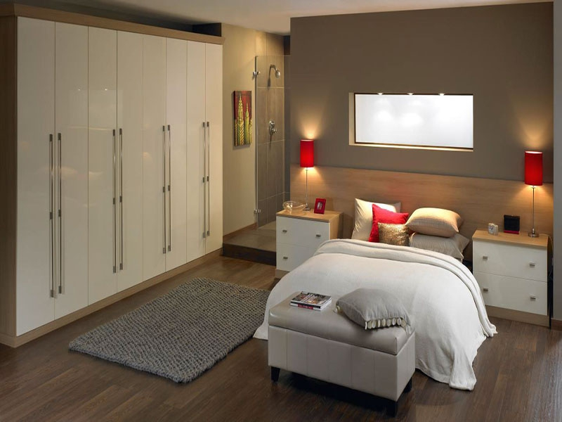 fitted bedrooms